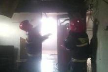 Հրշեջ-փրկարարները մարել են վագոն-տնակում բռնկված հրդեհը