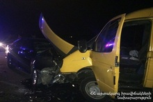 RTA on the Ashtarak-Sasunik roadway: there were casualties