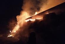 Ստեփանավան քաղաքում այրվել է մոտ 2500 հակ անասնակեր