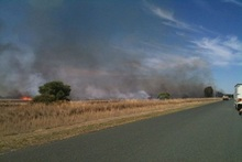 Firefighters extinguished fires broken out in grasslands with a total area of about 33 ha