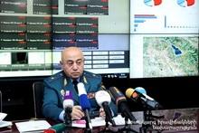 Пожарная ситуация в Армении: пресс-конференция директора спасательной службы
