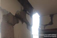 Взрыв в селе Ширакаван: пострадавших нет