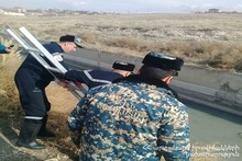 Corpse was found in Artashatyan canal