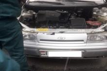 Փրկարարները դադարեցրել են ավտոմեքենայի գազի արտահոսքը