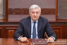 Поздравительное послание министра по ЧС Феликса Цолакяна по случаю Нового года и Рождества