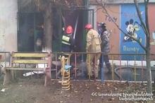 Пожар на проспекте Багратуняц: пострадавших нет
