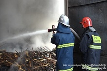 "The fire in the warehouse of ""NIKO"" store was extinguished"