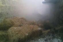 Աբովյան գյուղում այրվել է մոտ 200 հակ անասնակեր