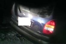 Ավտոմեքենան դուրս է եկել ճանապարհի երթևեկելի հատվածից և հայտնվել դաշտամիջյան հատվածում