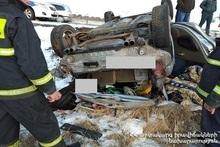 ДТП на автодороге Гюмри-Ереван: пострадавший был госпитализирован