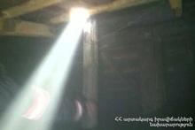 Пожар в городе Горис: пострадавших нет