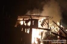 Пожар в селе Мармашен: пострадавших нет