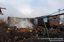 Пожар в селе Цилкар: пострадавших нет