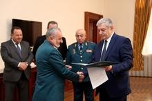 ՌԴ նախագահ Վլադիմիր Պուտինը պարգևատրել է ԱԻՆ աշխատակիցներին
