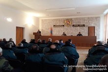 Vayots Dzor Regional Rescue Department of the Rescue Service summarized the year