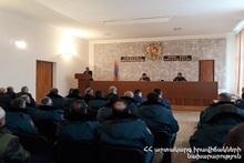Вайоцдзорское региональное спасательное управление СС подвело итоги года