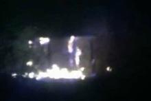 Пожар в селе Малишка: пострадавших нет