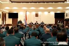 Спасательное управление города Ереван СС МЧС подвело итоги 2019 года: приняли участие министр по ЧС и мэр города Ереван