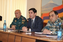 Ararat Regional Rescue Department summarized the year: the event was attended by the Governor of Ararat Province Garik Sargsyan