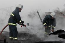 Այրվել են անասնագոմի տանիքի փայտյա կառուցատարրերը. տուժածներ չկան