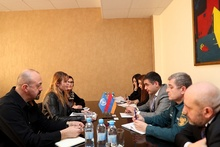 ԱԻ նախարարի տեղակալ Արմեն Հարությունյանն ընդունել է ՄԱԿ-ի Պարենի համաշխարհային ծրագրի հայաստանյան գրասենյակի ներկայացուցիչներին