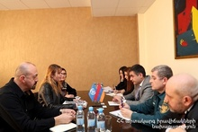 Deputy Minister of ES Armen Harutyunyan hosted the UN World Food Program in Armenia Representatives