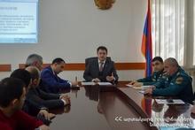 Тавушское региональное спасательное управление подвело итоги года: на мероприятии присутствовал губернатор Тавуша Айк Чобанян