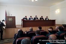 Армавирское региональное спасательное управление подвело итоги года: на мероприятии присутствовал губернатор Амбардзум Матевосян