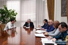 Министр по чрезвычайным ситуациям принял граждан