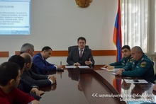 Tavush Regional Rescue Department of the Rescue Service summarized 2019: the event was attended by the Tavush Province Governor of Hayk Chobanyan
