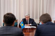 Ֆելիքս Ցոլակյանն ընդունել է Հայաստանում Ղազախստանի Հանրապետության արտակարգ և լիազոր դեսպան Թիմուր Ուրազաևին