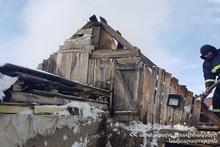 Пожар в селе Солак