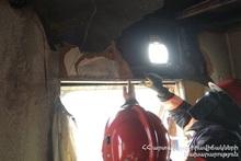 Пожар в домике: пострадавших нет