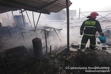 Вагон-дом полностью сгорел: пострадавших нет