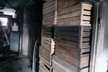 Пожар в селе Прошян