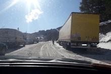 Շուրջօրյա հերթապահությունն ավտոճանապարհներին շարունակվում է