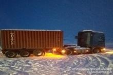 Сотрудники министерства по ЧС продолжают круглосуточное дежурство на автодорогах: спасательные силы работают в усиленном режиме