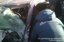 As a result of road traffic accident citizens were injured