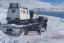 Возле села Гарнаовит Арагацотнского региона были проведены поисково-спасательные работы