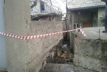 Սարի թաղ թաղամասում փլուզվել է տան արտաքին պատը. տուժածներ չկան