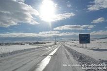 На территории РА есть закрытые автодороги