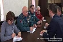 Директор Спасательной службы принял советника по безопасности посольства Швейцарии Фабьена Райдера