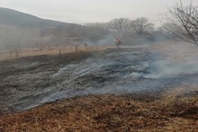 Firefighters extinguished fire broken out in grasslands with a total area of about 6.3 ha