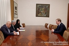 "ES Minister received Aleksey Melnikov, General Director of ""South Caucasus Railway"" CJSC"