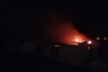 Fire in Hayanist village: there were no casualties