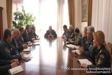 В министерстве по ЧС состоялось совещание по антикоронавирусной профилактике