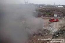 Пожар на улице Лукашина