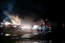 Fire in Araratyan street: there were no casualties