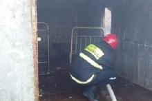 Արզական գյուղում այրվել է տնակ