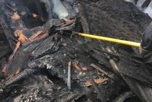 Փրկարարները մարել են փայտյա տնակում բռնկված հրդեհը